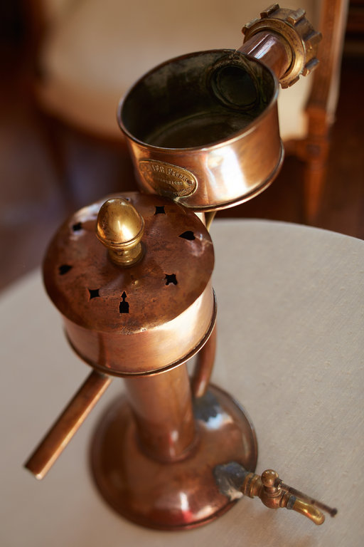 18th century alcoholometer holder