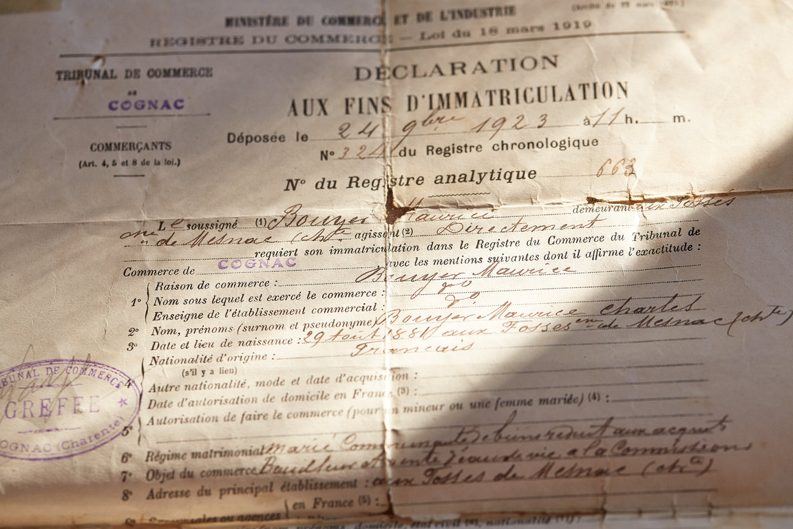 Distiller registration of a family member